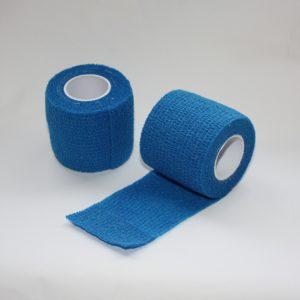 FIONIAVET Cohesive Elastic Bandage, blue