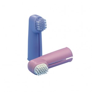 Fingertoothbrush set of 2 pcs, 12/pk